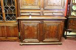 Stunning 18th Century French Carved 4 Door Cupboard With Two Centre Drawers Mon