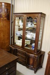 C20th French 4 Door Display Cabinet