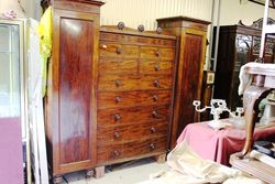 Early C19th Mahogany Wardrobe.