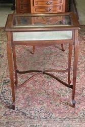 Antique Bijouterie Collectors Cabinet. #