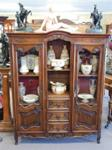 Early 20th Century French Walnut Bookcase