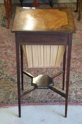 Early C20th Inlaid Sewing Table