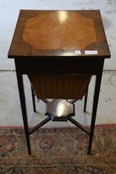 Inlaid Sewing Table