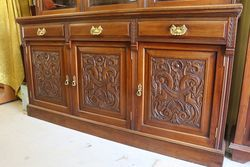 Large Mahogany Bookcase