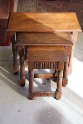 Antique Nest Of 3 Coffee Tables