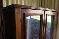 Antique Bookshelf  Display Cabinet