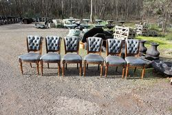 6 Late Victorian Dining Chairs.