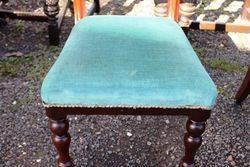 Set Of 6 Mahogany Chairs