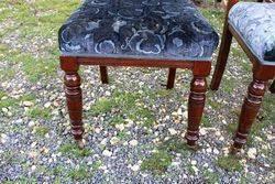 Set Of Six Edwardian Chairs
