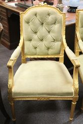 3 Pieces  Armchair and Single Chair