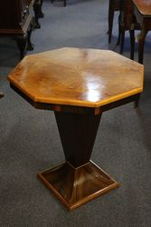 Art Deco Octagonal Occasional Table C1925.