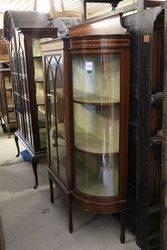 Antique Single Door Display Cabinet