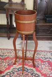 A Quality Brass Board Planter + Stand By Imperial Bristol
