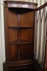 Corner 3 shelves Display Cabinet