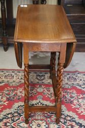 Oak Gate Leg Table C1910