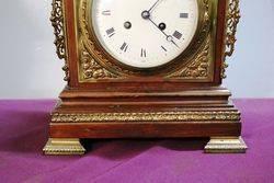 Stunning Antique Walnut Bracket Clock