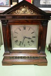 Antique Rosewood Mantle Clock. #