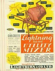Lightburn X Co Ltd Concrete Mixer Adelaide