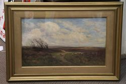 Pair of C19th Framed Decorative Paintings