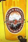 Vintage Solan Brewery Pictorial Enamel Sign