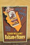 Balsam Of Honey Shop Advertising Display Card.