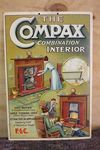 Compax Interior Shop Display Advertising Card.