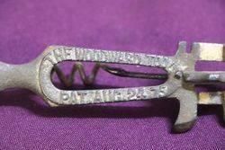 1875 Woodward Iron Multi Tool Glass Cutter Corkscrew