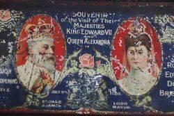1908 Souvenir Tin King Edward VII