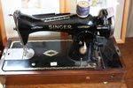 Cast Singer Sewing Machine