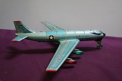 1957 TN Nomura Japan Battery Operated Strato Jet Toy