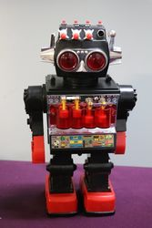 """1980s KAMCO Sentinel The 13"""" Giant Walking Robot Battery Powered"""