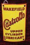 Castrollo Vintage Upper Cylinder Enamel Signs