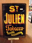 Classic Framed St Julien Enamel Sign