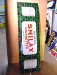 Ogdens Smilax Strip Enamel Sign