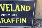 Cleveland Paraffin Oil Sign