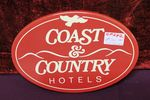 Coast +.Country Hotels Brewery Enamel Advertising Sign