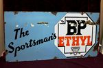 BP Sportsmans Ethyl Enamel Sign.