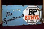 BP Sportsmans Ethyl Enamel Sign.