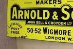 Antique Arnold + Sons Veterinary Enamel Sign