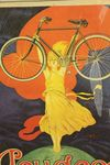 Classic Original Framed Peugeot Advertising Cycles Print