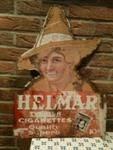 HELMAR CIGARETTES PICTORIAL POST MOUNT----ST128c