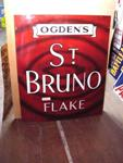 Classic Ogdens St Bruno Flake Sign