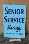 Senior Service Classic Tobacco Advertising Tin Sign