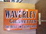 Waverley Cigarettes Enamel Sign