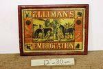 Antique Ellimans Embrocation Tin Enamel Sign
