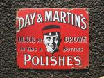 Day & Martins Polishes Small Pictorial Enamel Sign