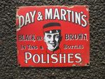 Day + Martins Polishes Enamel Sign
