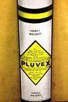 Pluvex Die Cut Advertising Enamel Sign