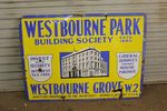 Westbourne Park Building Society Enamel Sign