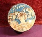 Vintage Keiller`s Kinema Krunchies Biscuit Tin.#